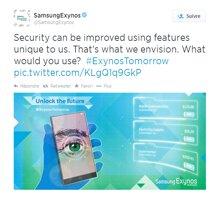 Samsung trang bị máy quét võng mạc cho Samsung Galaxy note 4 ?