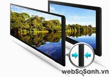 Samsung UA40ES6600: Trải ngiệm nội dung 3D, giá từ 12,9 triệu