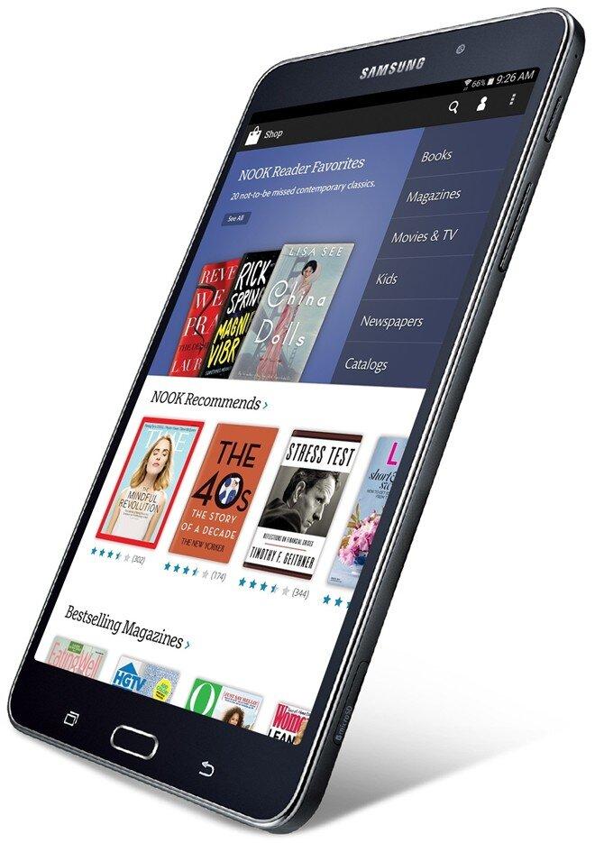 Samsung và Barnes & Noble hợp tác sản xuất tablet đọc sách