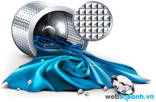 Samsung WF9752N5C/XSV đột phá với công nghệ giặt bong bóng