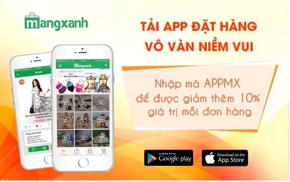 Sàn giao dịch thương mại điện tử Mạng Xanh ra mắt app mới, khách hàng nhận ngay nhiều ưu đãi