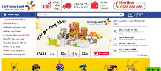 SanHangRe.net – website mua hàng hiệu trực tuyến giá rẻ nhất thị trường