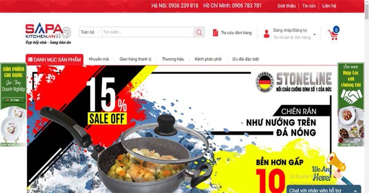 Sapa Kitchen chuyên phân phối sản phẩm gia dụng thủy tinh nhập khẩu cao cấp