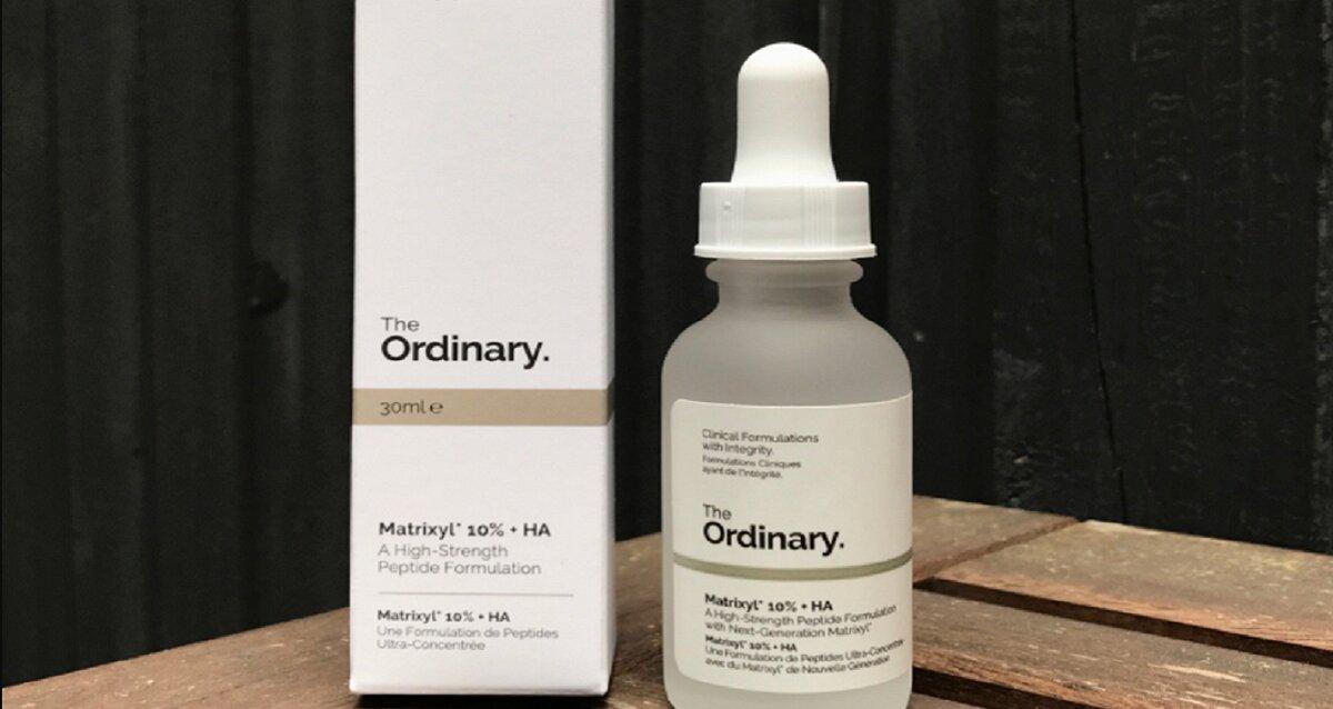Serum The Ordinary Matrixyl 10% + HA – chống lão hóa, giá bình dân