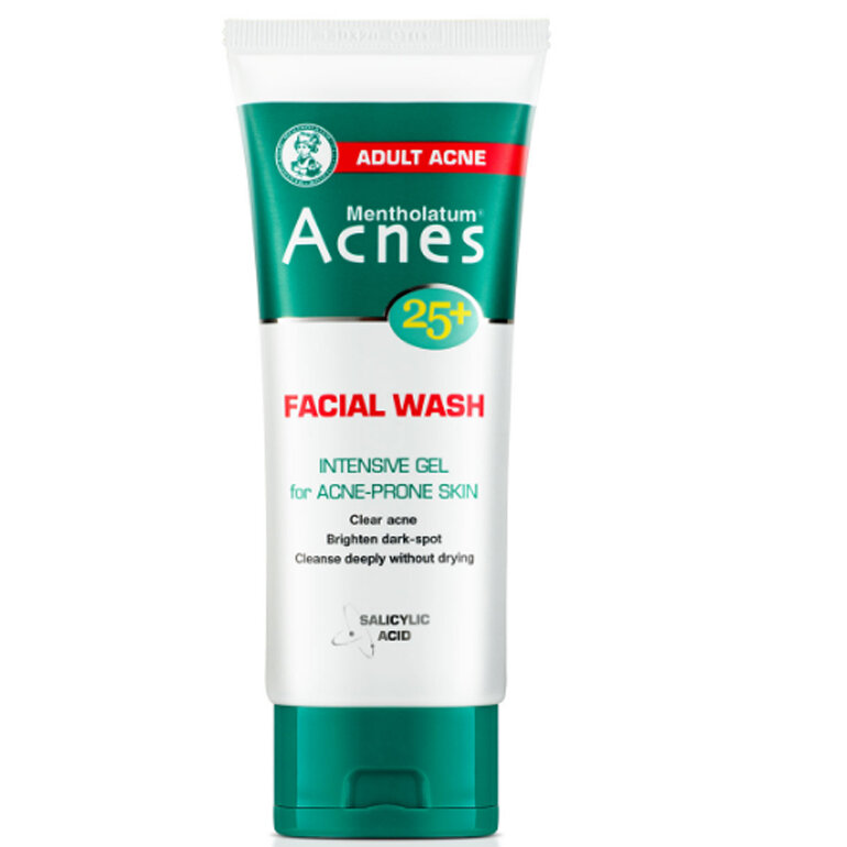 Sữa rửa mặt Acnes 25+ Facial Wash - Giá tham khảo khoảng 76.000 vnđ/ tuýp 100g
