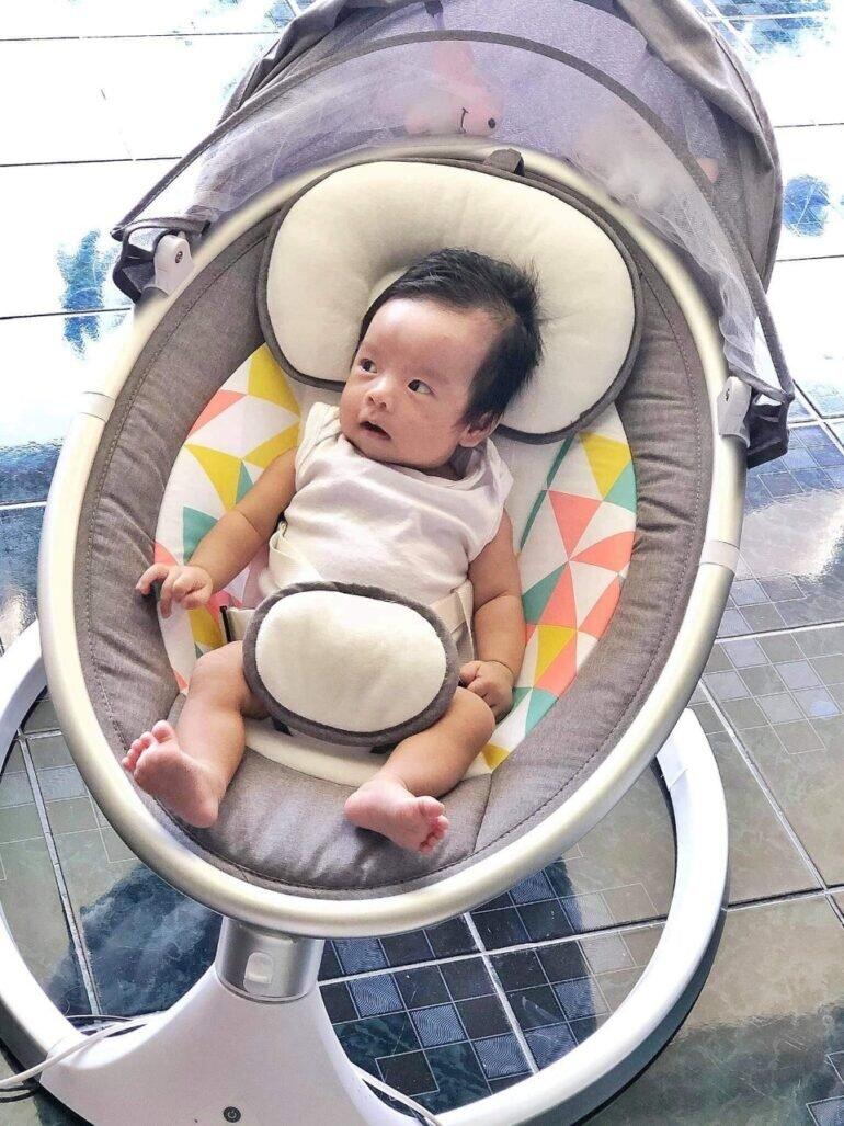 Ghế rung nhún cho bé đa năng