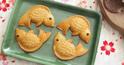 Cách làm bánh trung thu Cá vàng nhân Socola sữa nướng cho bé