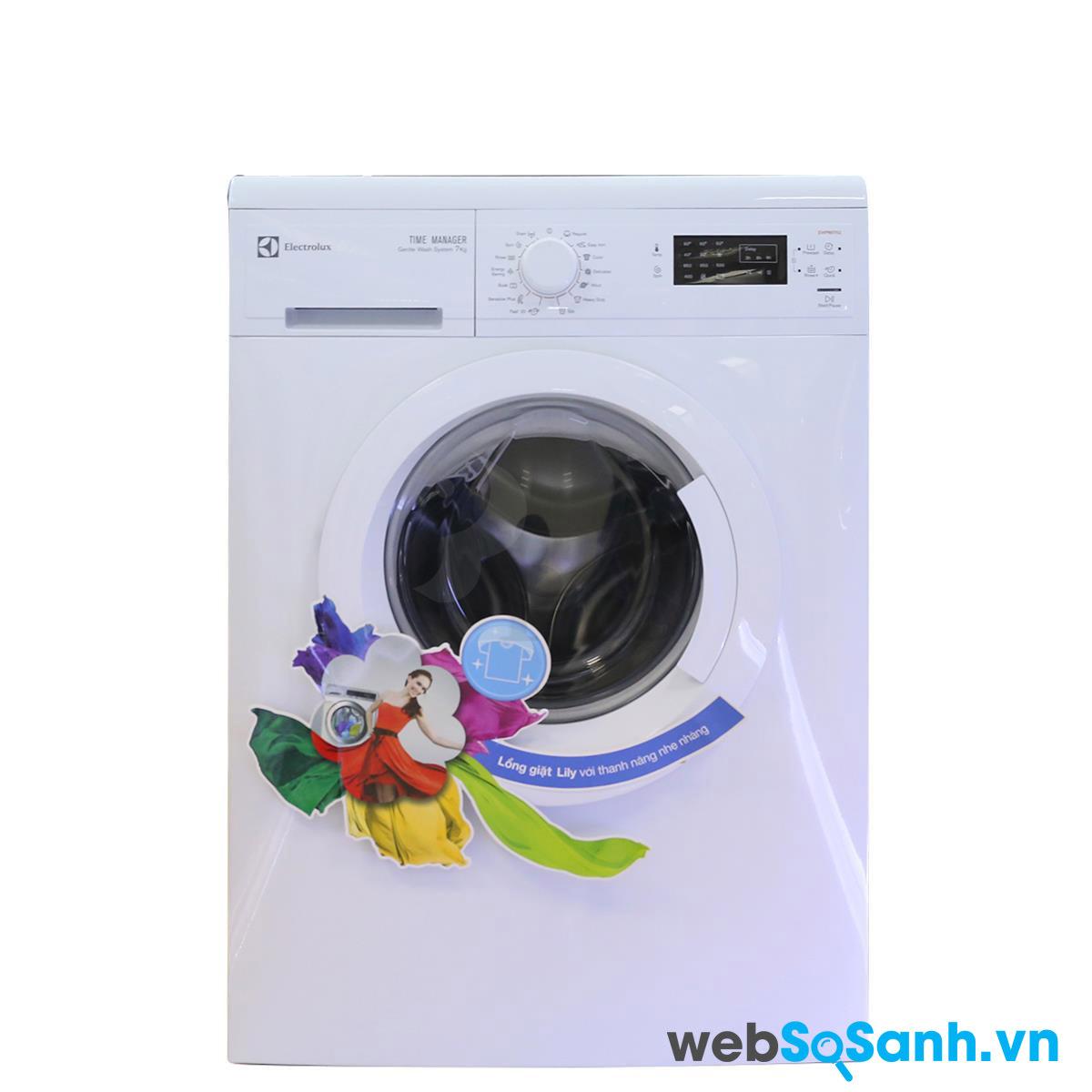 Máy giặt lồng ngang Electrolux EWP85752