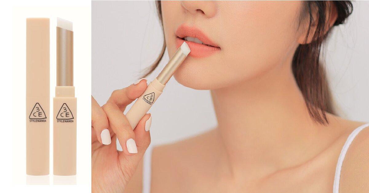 Review son dưỡng 3CE Lip Primer mới - môi thâm đến mấy son vẫn lên màu đẹp lung linh