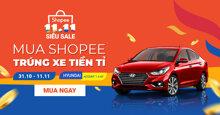 Shopee 11.11 Siêu Sale chính thức trở lại – Sự kiện mua sắm lớn nhất 11.11 từ trước đến nay