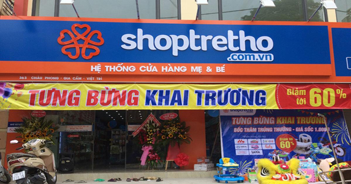 ShopTreTho.com.vn – Hệ thống cửa hàng Mẹ & Bé uy tín tại Việt Nam.