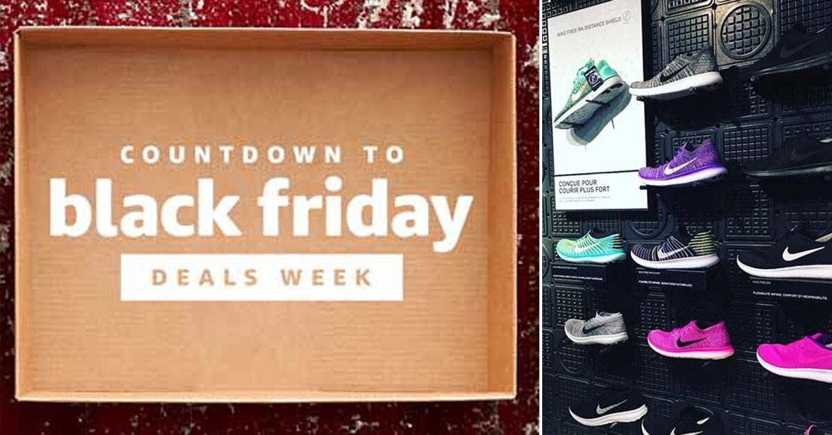Siêu bão Black Friday 2017: Giày Nike Adidas chính hãng giảm giá bao nhiêu phần trăm ?