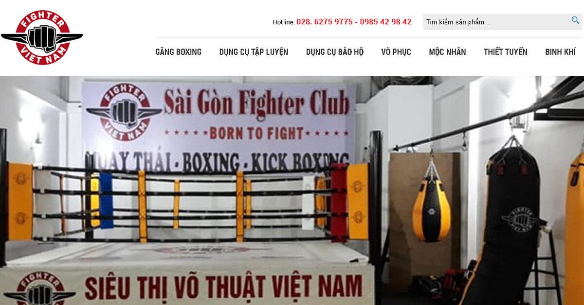 Siêu thị võ thuật Việt Nam – địa chỉ mua đồ võ thuật gì cũng có tại thành phố Hồ Chí Minh