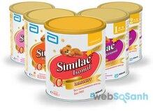 Similac Isomil IQ – sữa công thức dành cho trẻ bất dung nạp