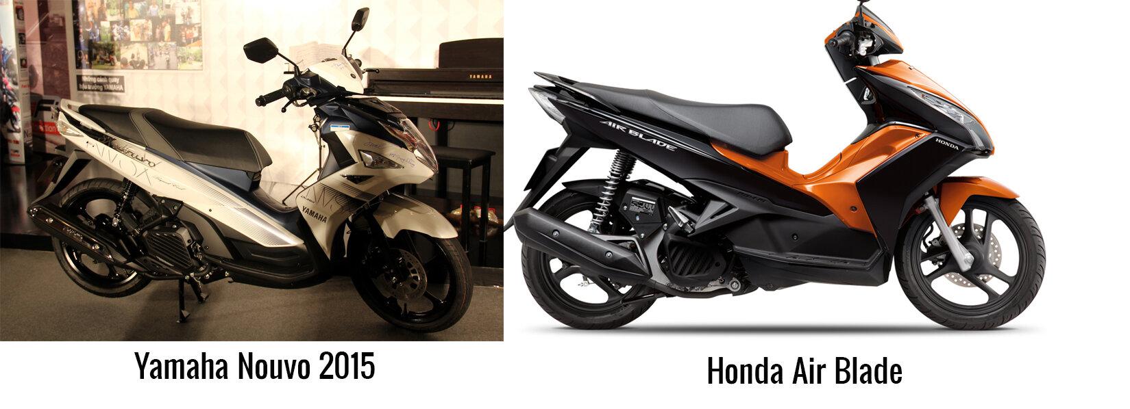 Nhn Li Lch S Cc Dng Xe My Yamaha Nouvo Nuvo Sinh Vin Mi Ra Trng Nn Chn Mua Honda Air Blade Hay