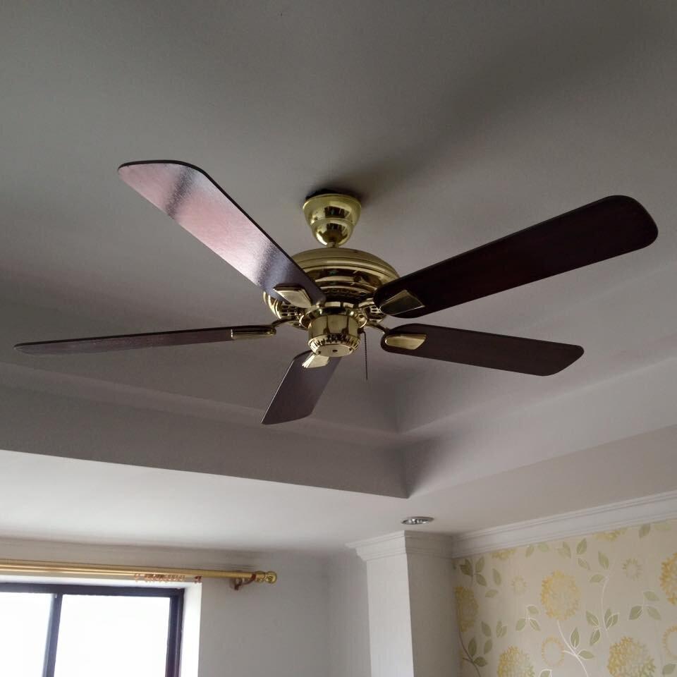 Chọn công suất quạt trần phải dựa trên yếu tố về diện tích và không gian