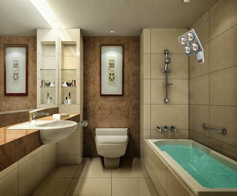 Mua đèn sưởi nhà tắm không chỉ dùng trong mùa đông