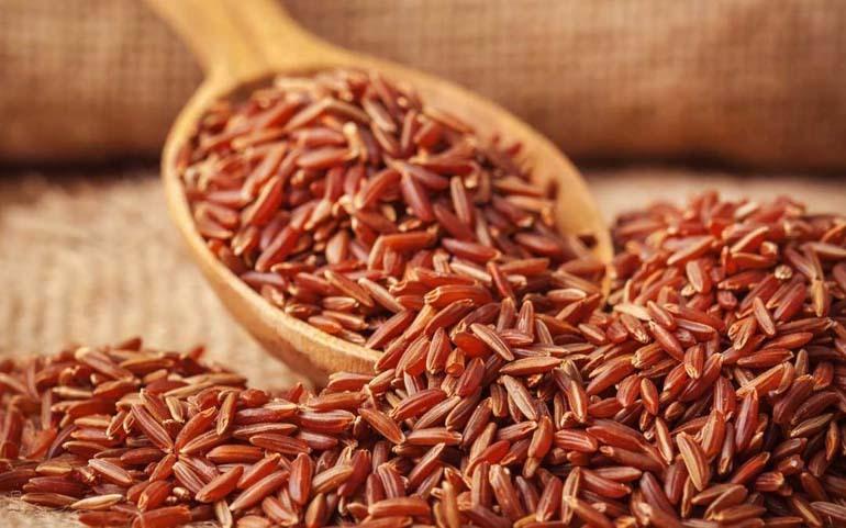 giảm cân với gạo huyết rông