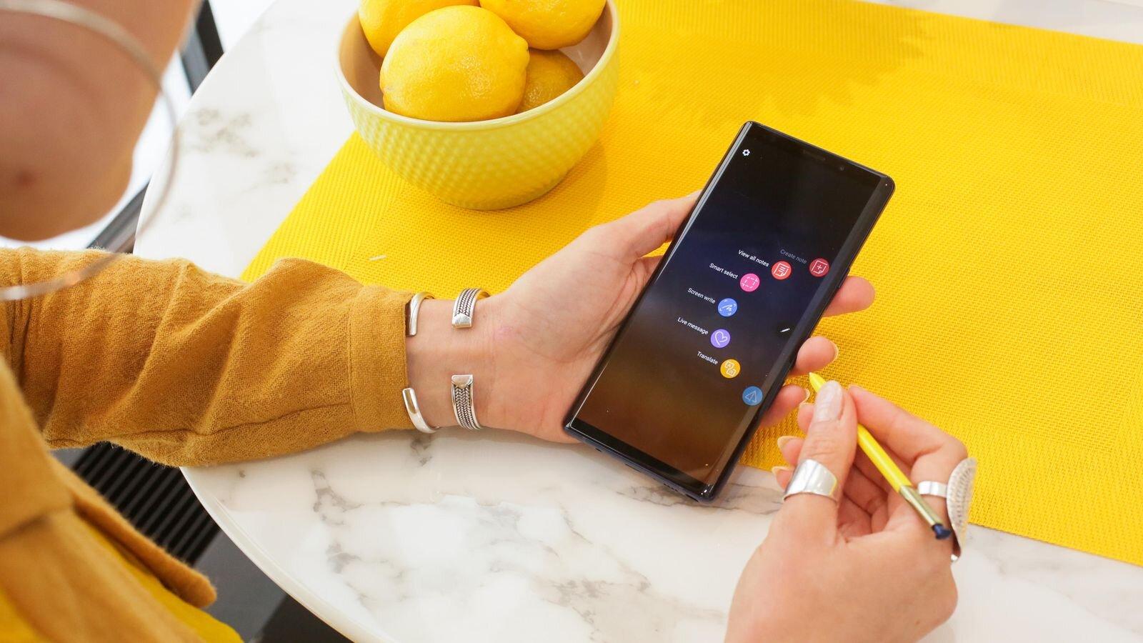 Note 9 được công bố tại Việt Nam sắp tới