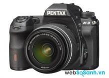 Bảng giá các dòng máy ảnh DSLR Pentax trên thị trường cập nhật tháng 1/2018