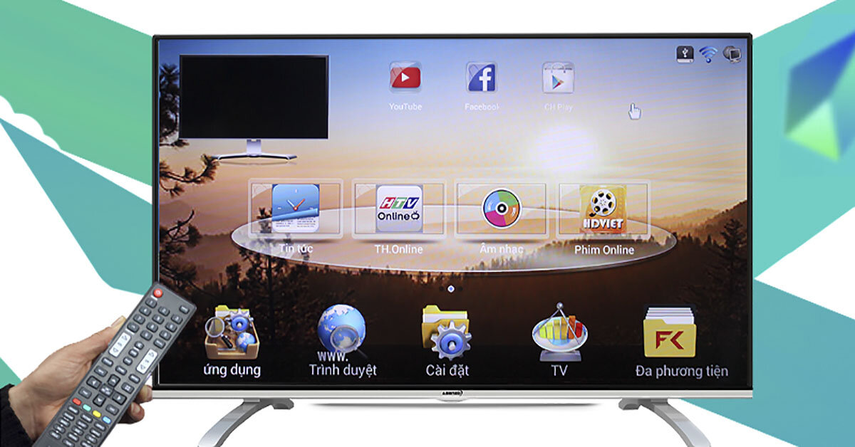Smart tivi là gì ? Smart tivi có tốt không ? Smart tivi nào cho chất lượng tốt nhất hiện nay ?