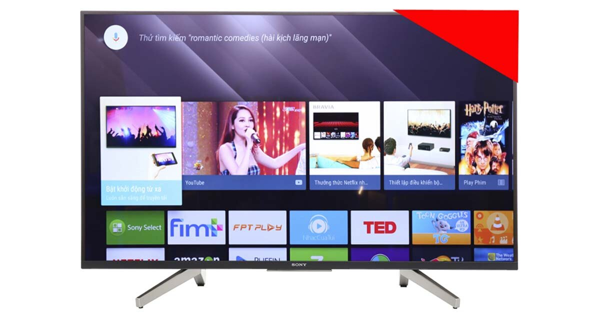 Smart tivi Sony KD-43X8500F – sự lựa chọn thông minh với mức giá rẻ