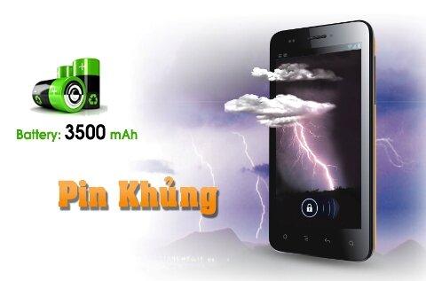 "Smartphone ""Avio Sen Pro One"" – Pin siêu khủng"
