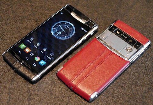Smartphone hạng sang Vertu – Bentley sắp trình làng