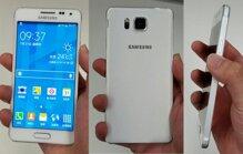Smartphone kim loại của Samsung có thiết kế nhái hệt iPhone