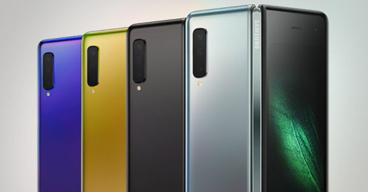 Smartphone màn hình gập Samsung Galaxy Fold 5G có mấy màu ? Nên chọn màu nào là đẹp nhất ?