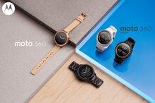 Smartwatch Moto 360 và Moto 360 Sport: thiết kế lịch lãm giá cả hợp lý
