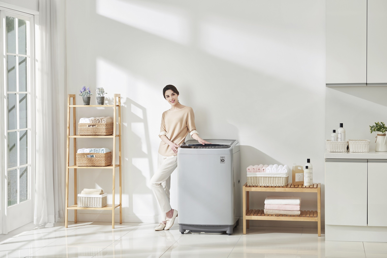 Máy giặt LG có thiết kế hiện đại cùng các công nghệ giặt sạch vượt trội