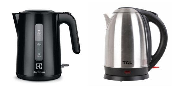 So sánh 2 ấm đun siêu tốc Electrolux EEK3200 và TCL TAG18D