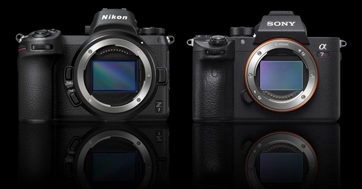So sánh 2 chiếc máy ảnh Sony A7R III và Nikon Z7