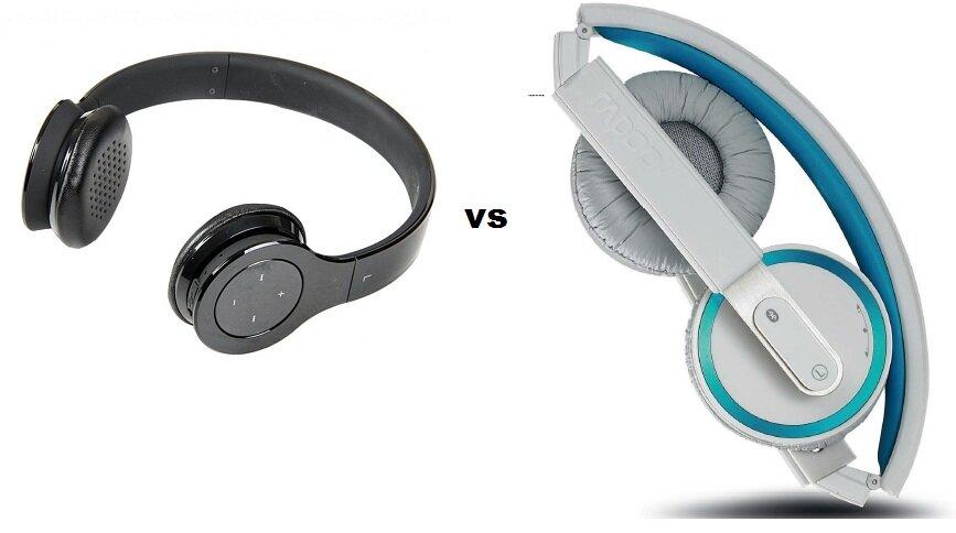 So sánh 2 dòng tai nghe cá tính Rapoo H6080 và H6060