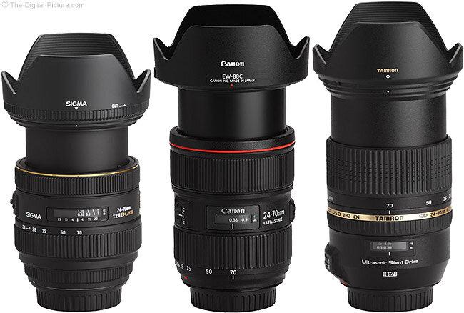 So sánh 4 dòng lens đa dụng 24-70mm f2.8 phổ biến (Phần 2)