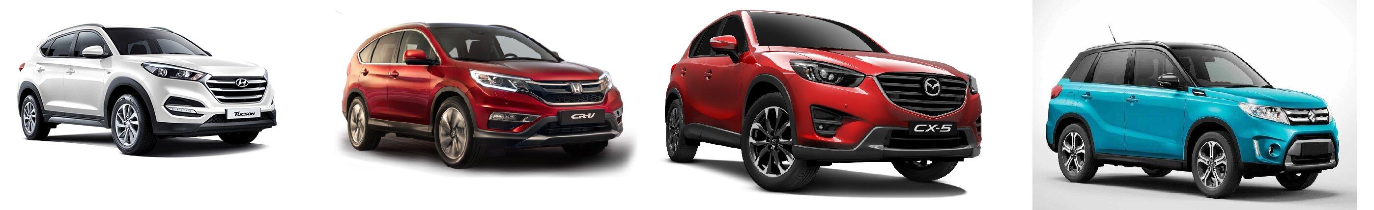 So sánh 4 mẫu xe crossover được yêu thích nhất trên thị trường Việt Nam