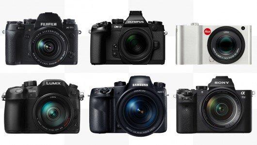 So sánh 6 máy ảnh cao cấp không gương lật đáng chú ý nhất năm (Phần 1)