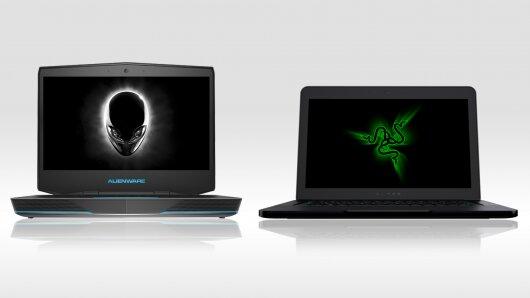 So sánh Alienware 14 và Razer Blade: chọn  laptop chơi game nào?
