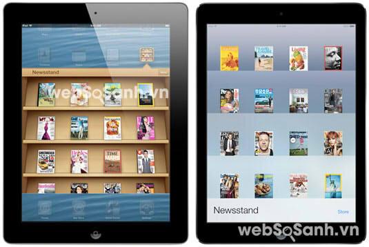 So sánh Apple iPad Air và iPad 4: những siêu phẩm công nghệ
