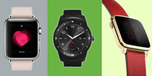 So sánh Apple Watch, Android Wear và Pebble Time