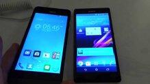 So sánh Asuz Zenfone 5 và Sony Xperia C: Smartphone chạy Android giá hấp dẫn