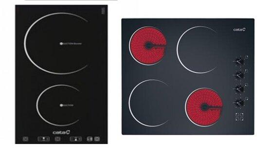 So sánh bếp điện từ Cata I302 FTCI và bếp điện từ Cata 604HVI