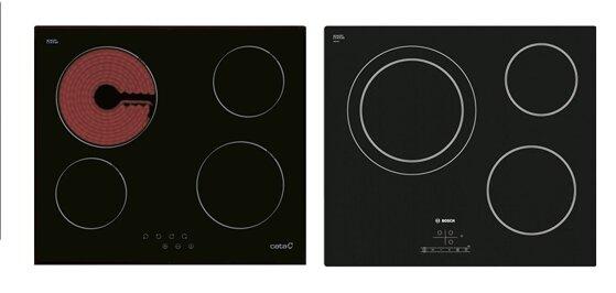 So sánh bếp điện từ Cata TC604FVI và bếp điện từ Bosch PKK611B17E