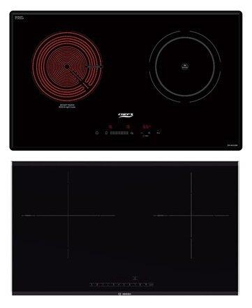 So sánh bếp điện từ Chef's EHMIX366 và bếp điện từ Bosch PMI968MS