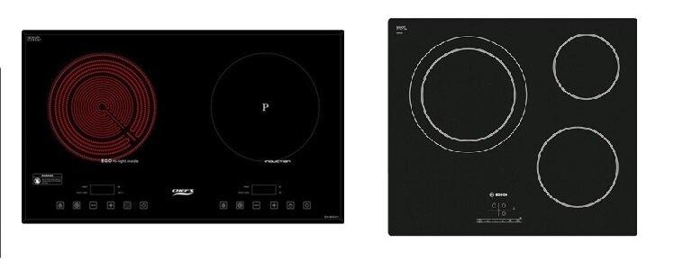 So sánh bếp điện từ Chefs EH-MIX311 và bếp điện từ Bosch PKK611B17E