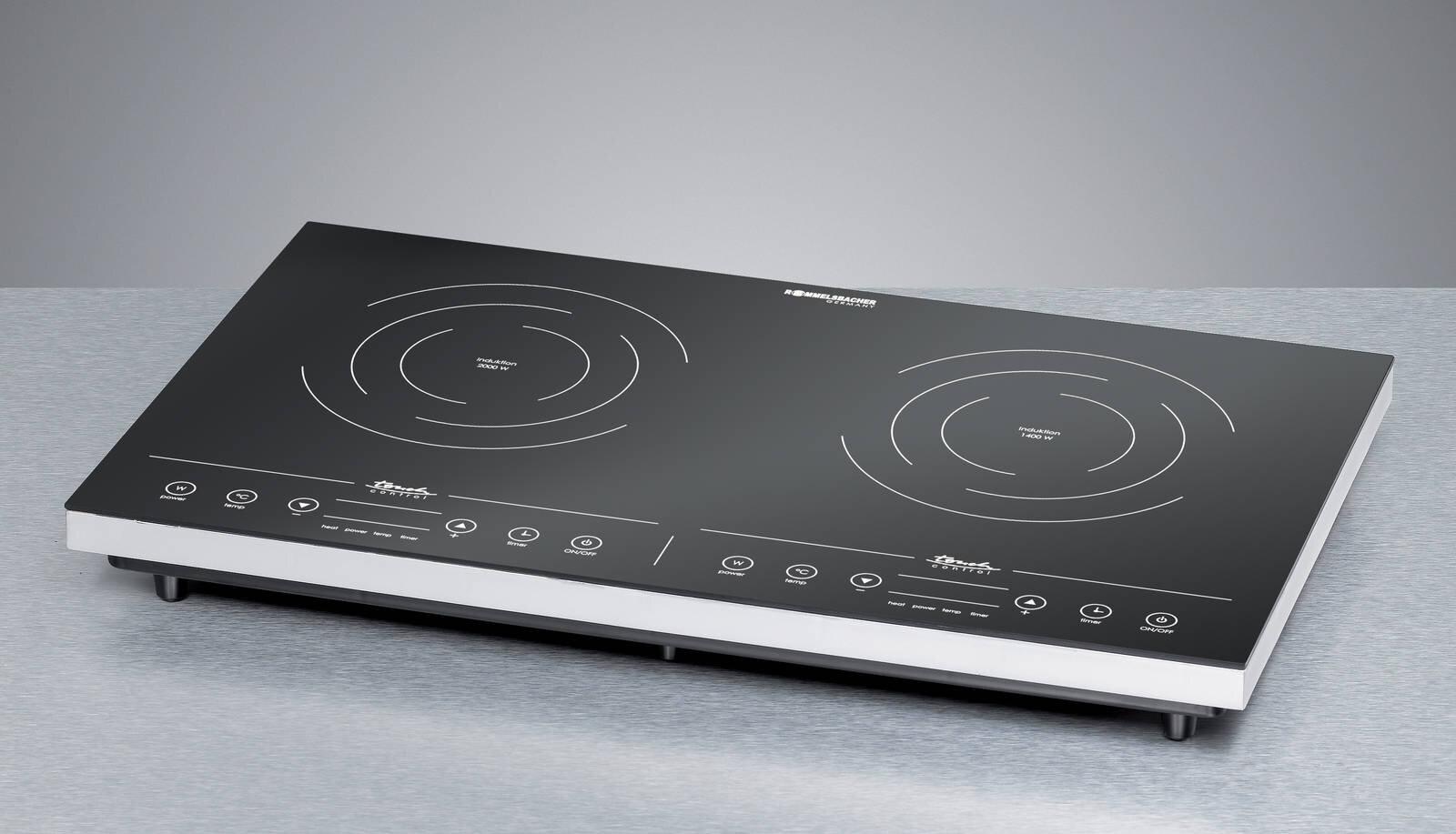So sánh bếp điện từ Chefs EH-MIX311 và bếp điện từ đôi Rommelsbacher CT3410
