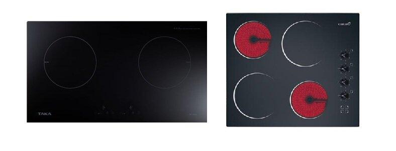 So sánh bếp điện từ đôi Taka TK-I02C2 và bếp điện từ Cata 604HVI