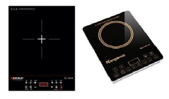 So sánh bếp điện từ Kangaroo KG-415I và bếp điện từ Taka TK-I01A