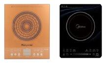 So sánh bếp điện từ Kangaroo KG362I và bếp điện từ Midea MI-T2112DA